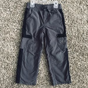 Amy Coe Toddler lined gray skull pants 4T